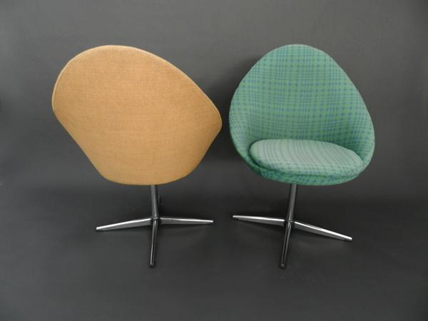 Pair of armchairs mod. Pluto