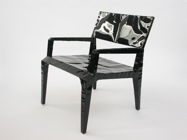 Pair of armchairs mod. Mr. Bugatti