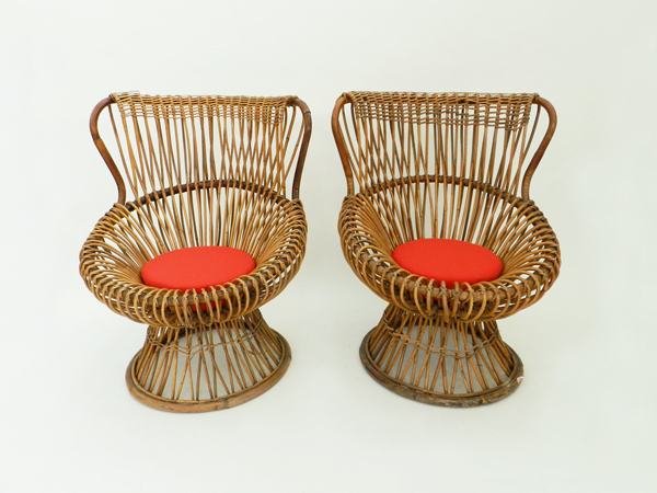 Pair of garden chair mod. Margherita