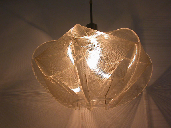 Lamp of wire nylon