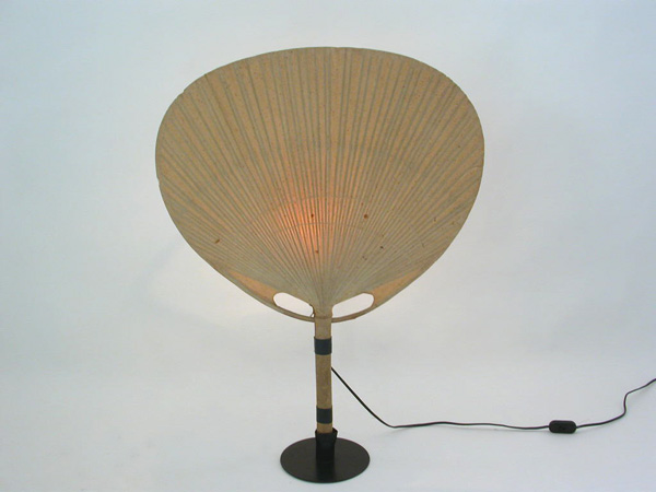 Table lamp mod. Uchiwa