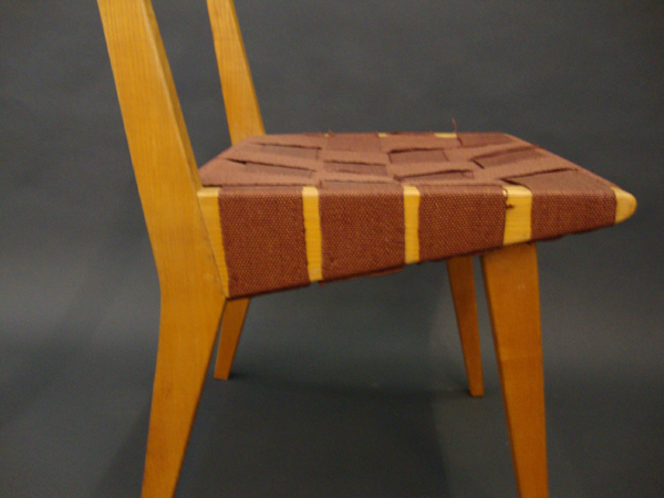 6 Dining chairs mod. 666 WSP