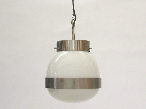 Pair of hanging lamp mod. Delta