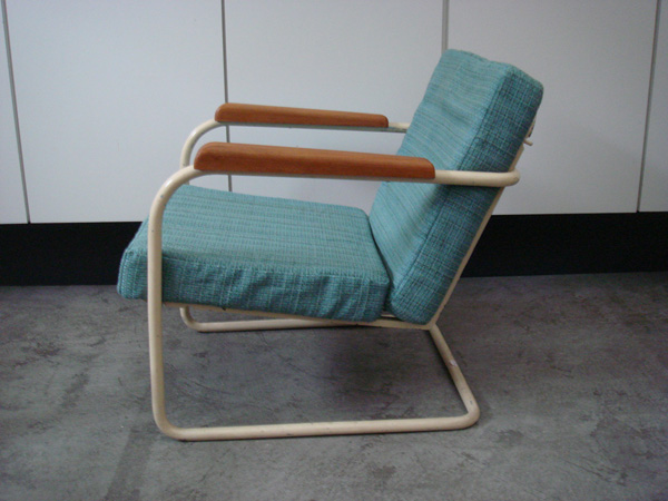 Swiss Bauhaus adjustable armchair
