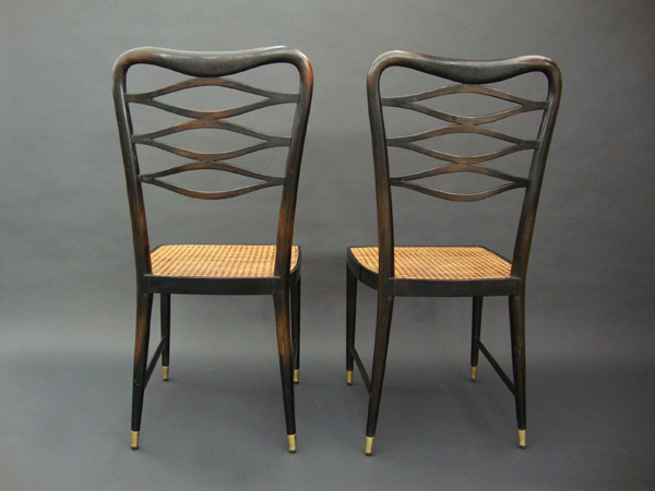 Set of armchairs and chairs