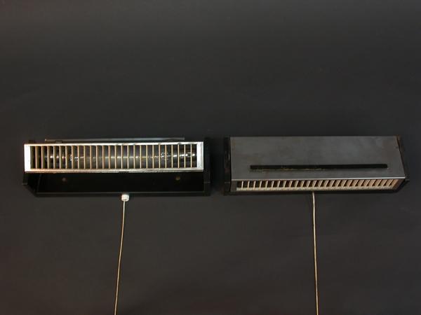 Set of 4 adjustable wall lighting