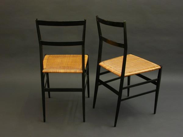 Chairs mod. Superleggera