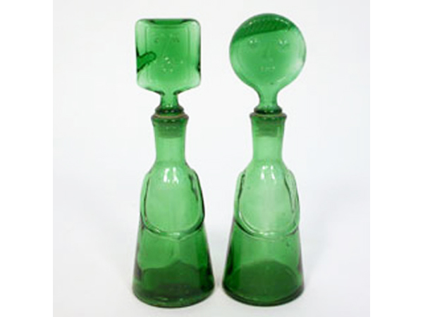 Man and woman bottles