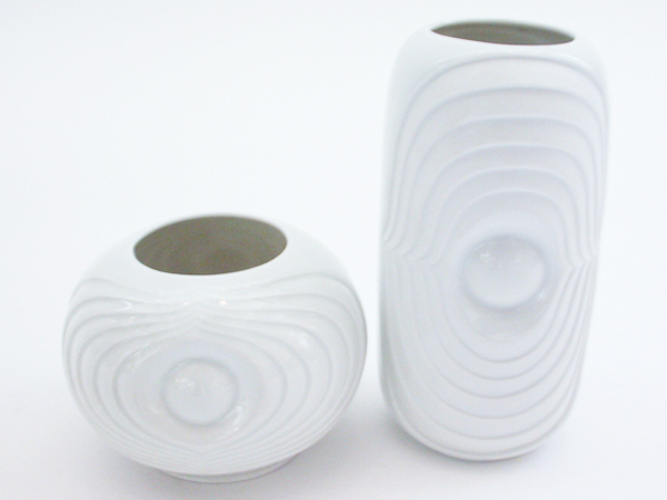 Small pair of vases