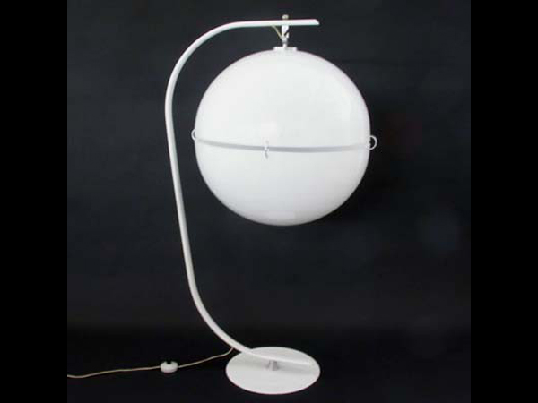 Pair of ball lamps