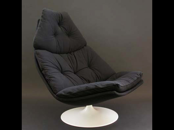 Swivel Lounge Chair mod. F585