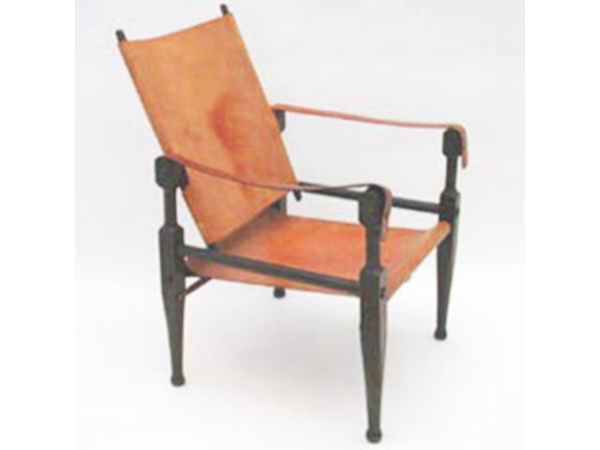 Pair of Indian chair mod. 1761N