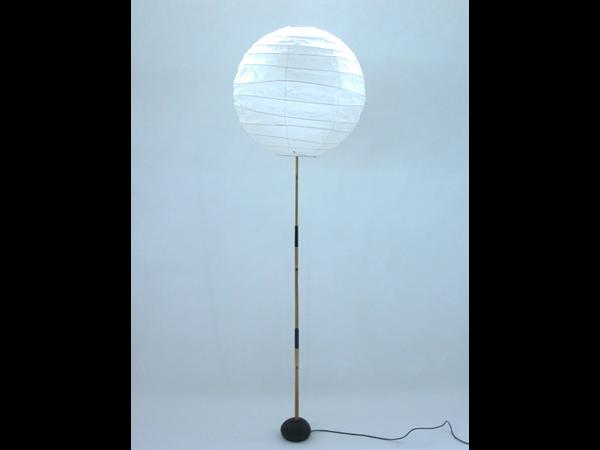 Paper and bamboo lamp mod. Akari