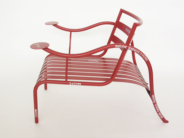 Prototipe mod. Thinking Man Chair