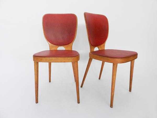 6 Chairs mod. Kreuzzargen Stuhl