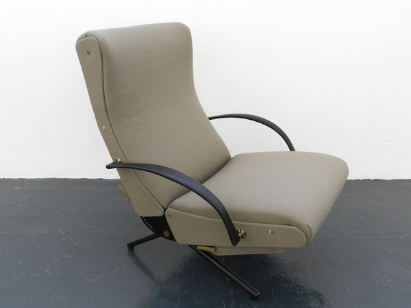 Adjustable lounge chair mod. P40