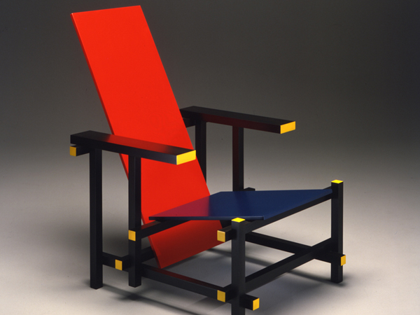 mod. Red & Blue Chair