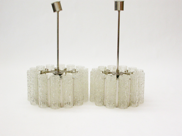 Set of Venini hanging lamps