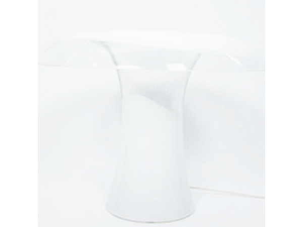 Mushroom glass table lamp