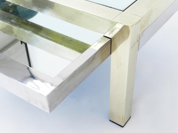 Adjustable coffee table