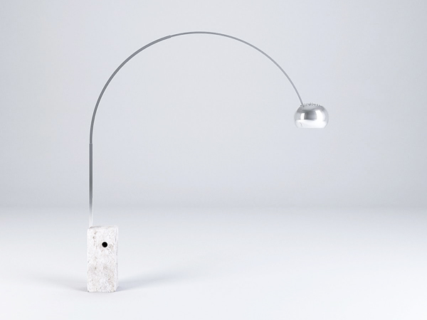 Floor lamp mod. Arco