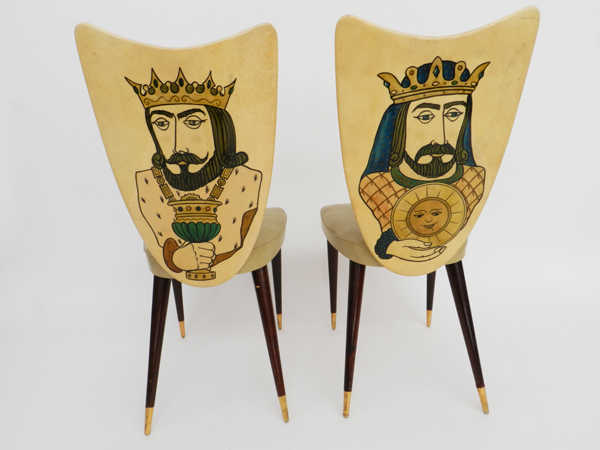 Pair of decorative chairs