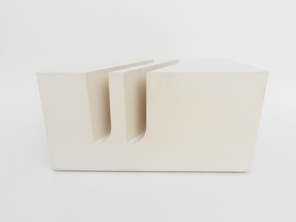 Side table — magazine holder