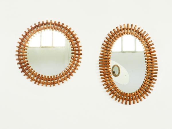 Bamboo mirrors