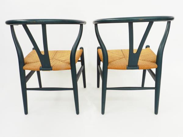 6 Chairs mod. Wishbone CH24
