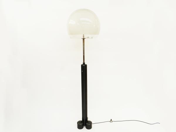 2 Big floor lamps mod. LT Porcino