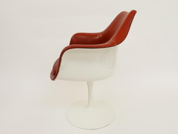 8 Rotating armchairs mod. Tulip