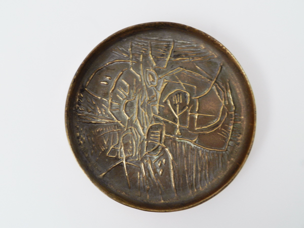 Sculpture plate edition «Il Sestante»