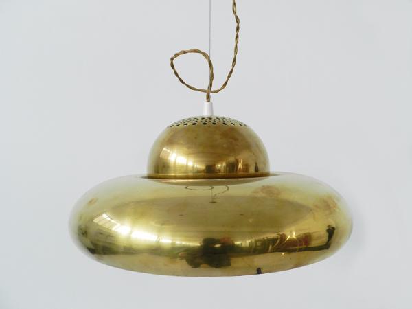 2 Pendants lamps mod. Fior di loto