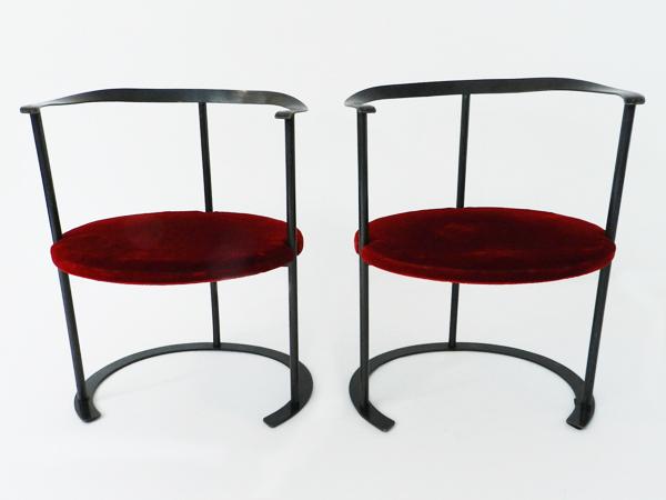 2 Chairs mod. P4 Catilina Piccola