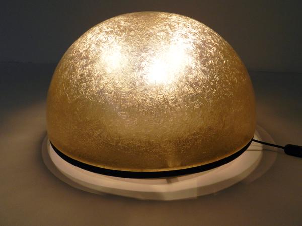 Moon table or floor lamp