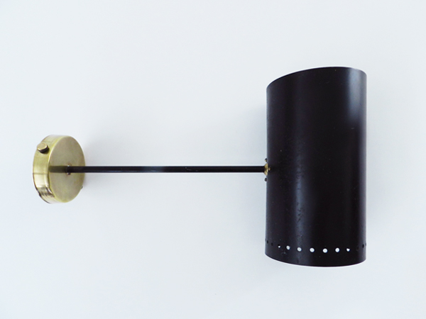 Adjustable tube sconce
