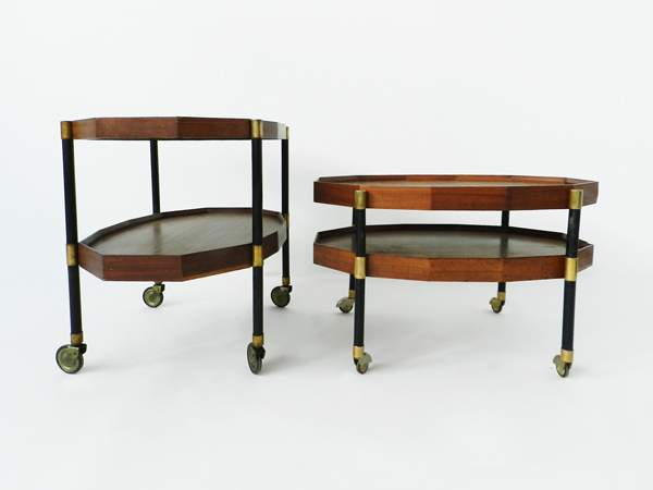 Pair of ServiceBoys or 4 side tables