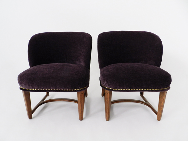 Pair of «Camera» armchairs