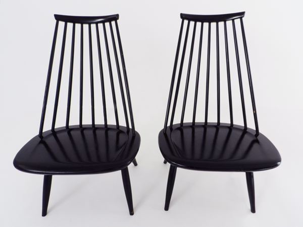 2 Lounge chairs mod. Mademoiselle