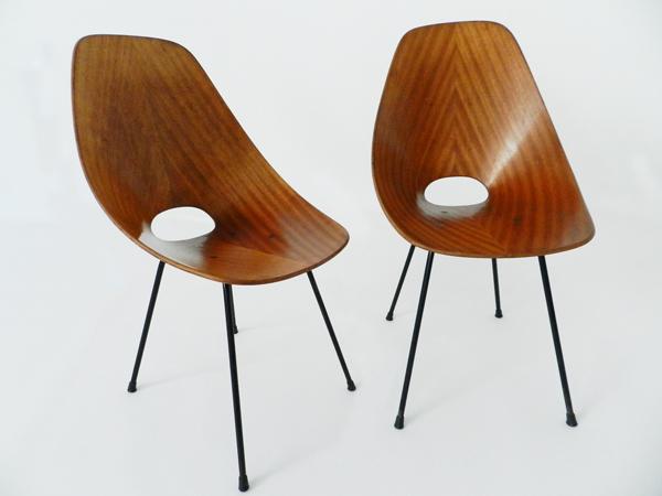 4 Chairs mod. Medea