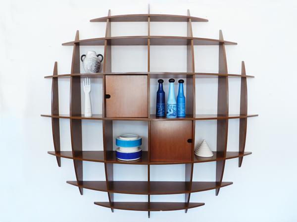 Round bookshelf mod. Ticho/B