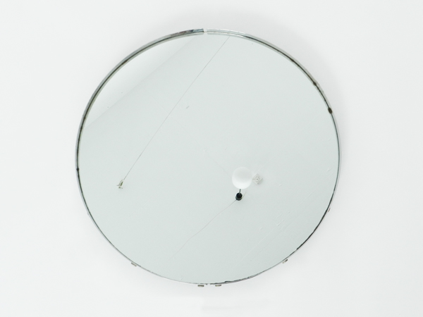 Steel italian mirror