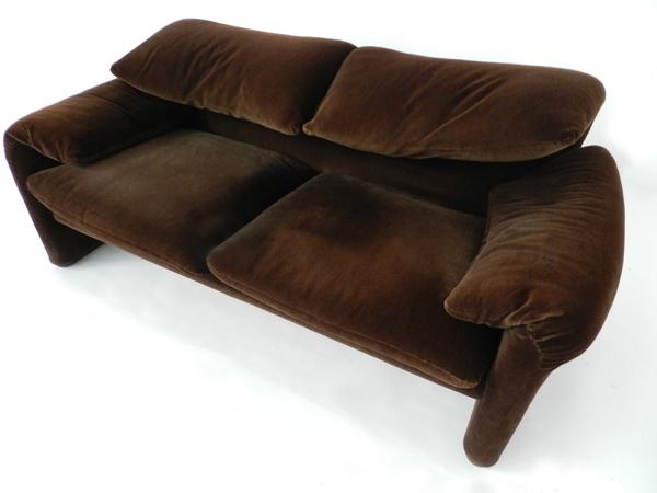 Maralunga sofa, armchair, ottoman
