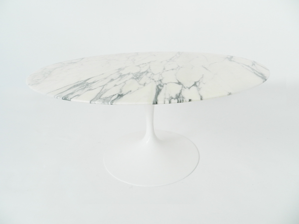 Marble coffee table mod.Tulip