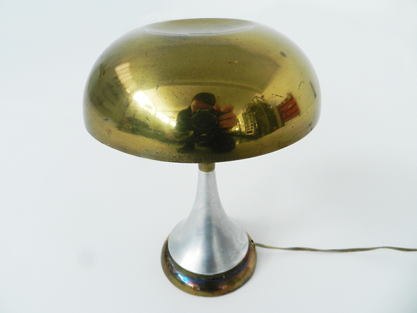 Small jewel table lamp