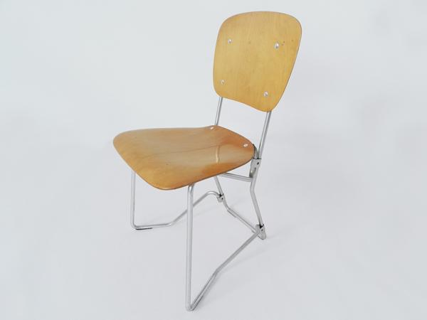 6 Pliab. folding chairs mod. Alu Flex