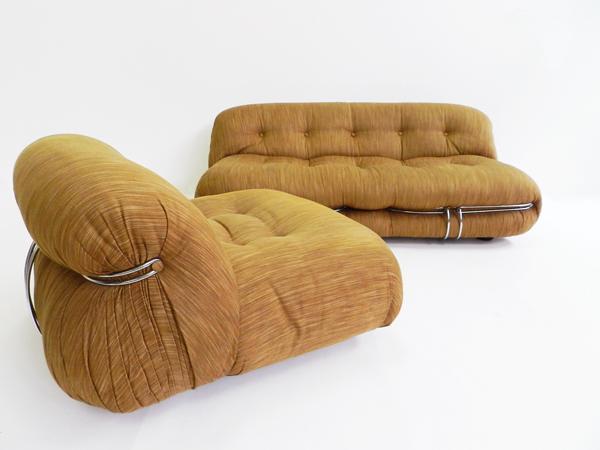 Soriana sofa and 2 lounge chairs
