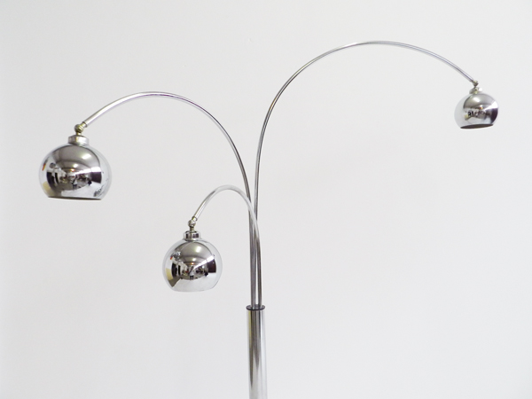 Adjustable Arco floor lamp