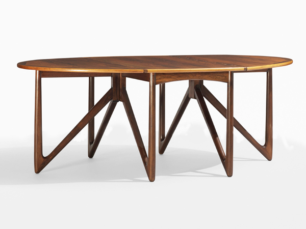 Dining table mod. Drop-Leaf