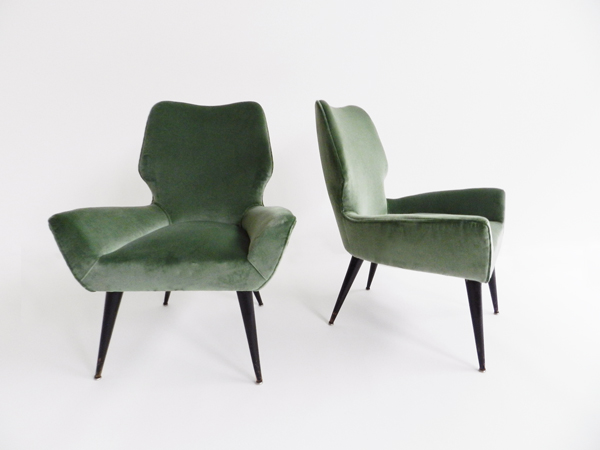 Pair of super elegant Armchairs